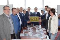 FOLKLOR - AK Parti Heyetine Davullu Zurnalı Karşılama
