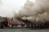 BASIN AÇIKLAMASI - Anaokulu Binasının Çatısındaki Yangının Ardından