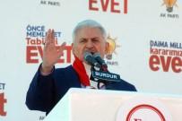 Başbakan Yıldırım Açıklaması 'Bu Anayasa Babayla Evladı Birbirine Düşürdü'