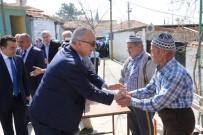İSTİNAT DUVARI - Başkan Ergün, Soma'da Vatandaşları Dinledi