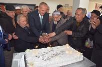 MEHMET KELEŞ - Başkan Keleş Yaşlılarla Pasta Kesti