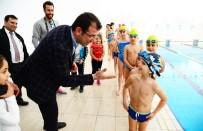 BEYLIKDÜZÜ BELEDIYESI - Beylikdüzü Yüzme Kulübü Açıldı