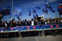 ULUSAL CEPHE - Bulgar Milliyetçiler Yine Türkiye Sınırında Eylem Yapıyor