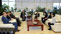 ÇIN HALK CUMHURIYETI - Çin Büyükelçisi OMÜ'de