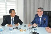 KEMAL ŞAHIN - Çinli Heyet İşbirliği İçin Samsun'da