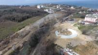BASKETBOL - Çok Amaçlı Modern Parkın İnşaat Çalışmaları Aralıksız Sürdürülüyor