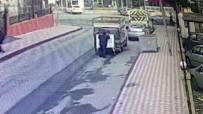 ESENYURT BELEDİYESİ - Çöp Konteyneri Hırsızları Kamerada