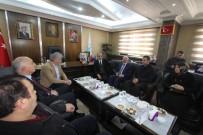 İL GENEL MECLİSİ - Cumhurbaşkanı Başdanışmanı Topçu'dan Başkan Memiş'e Ziyaret