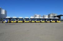 TOPLU ULAŞIM - Diyarbakır'da Çevre Dostu 10 Otobüs Seferlere Başlıyor
