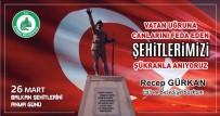 Edirne Belediye Başkanı Gürkan, Balkan Şehitlerini Andı