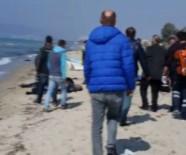 Ege'de Kaçak Göçmenleri Taşıyan Bot Battı