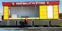 YENİ MALATYASPOR - Evkur Yeni Malatyaspor Lisanslı Ürün Satışı İçin Konteyner Satış Mağazalarını Faaliyete Geçirecek