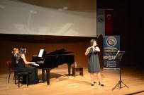 KARATEKIN ÜNIVERSITESI - Flüt Ve Piyano Resitali Büyük İlgi Gördü