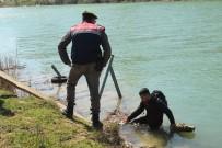 MANAVGAT IRMAĞI - Jandarmadan Yüzerek Kaçmaya Çalışan Suriyeli Göçmen Pişman Oldu
