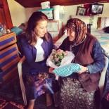 GÜNDOĞDU - Kadın Meclisi Üyeleri, Yaşlı Kadını Evinde Ziyaret Etti