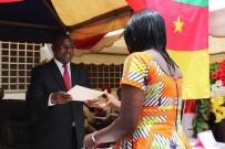 ERKEN EVLİLİK - Kamerun'daki Mesleki Eğitim Merkezinde Sertifika Heyecanı