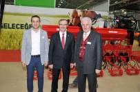 CEZAYIR - KSO Başkanı Kütükcü, Konya Tarım Fuarı'nı Ziyaret Etti