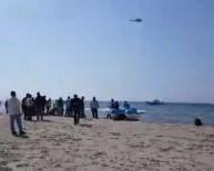 Kuşadası Körfezi'nde Kaçak Göçmenleri Taşıyan Bot Battı