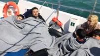 SAHİL GÜVENLİK - Kuşadası'nda Kayıp Göçmenleri Arama Çalışması Sürüyor