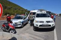KARAKAYA - Milas'ta Kontrolsüz Dönüş Kaza Getirdi; 2 Yaralı