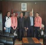 BASKETBOL - Milli Takımlar Kampına Seçilen Minik Sporculardan Başkan Uyan'a Ziyaret