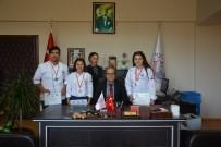 GÜMÜŞ MADALYA - Ortaca Meslek Yüksek Okulu Ulusal Yemek Yarışmasında Ödülleri Topladı