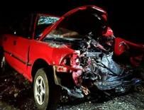Osmaniye'de trafik kazası: 2 ölü, 4 yaralı