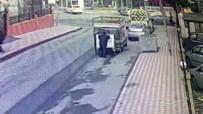 ESENYURT BELEDİYESİ - (Özel Haber ) Çöp Konteynerlerini Çalan Hırsızlar Suçüstü Yakalandı