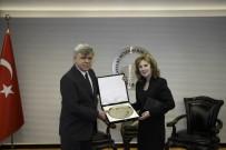 SLOVAKYA - Slovakya Büyükelçisi, Büyükşehir Belediyesi'ni Ziyaret Etti