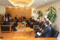 SLOVAKYA - Slovakya Cumhuriyeti Büyükelçisi Anna Turenicova Vali Kamçı'yı Ziyaret Etti