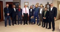 ŞEHIR TIYATROLARı - Tiyatro Ekibinden Başkan Karaosmanoğlu'na Ziyaret