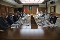 Vali Aktaş, TRT Yöneticileri İle Bir Araya Geldi