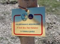 GÖLBAŞI - Yurt Öğrencileri 15 Temmuz Şehitlerinin İsimlerini Fidanlarda Yaşatacak