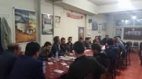 KAHVEHANE - Başkan Yalçın, Milli Maçı Kahvehanede Gençlerle İzledi