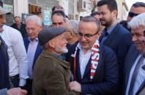 Grup Başkanvekili Turan Lapseki'de Seçim Bürosu Açılışına Katıldı