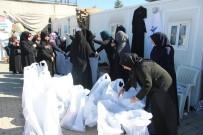 BEBEK MAMASI - İnsan Ve Medeniyet Hareketinden Suriyeli Kadınlara İnsani Yardım