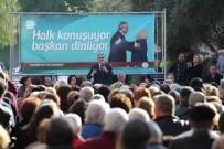 KARŞIYAKA - Karşıyaka Belediye Başkanı Vatandaşlarla Buluştu