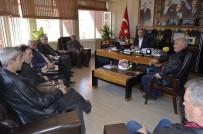 HıDıRELLEZ - Muhtarlardan Başkan Yaman'a Ziyaret