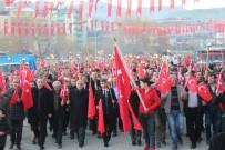 DEVLET HASTANESİ - Oltu'da Coşkulu Fener Alayı