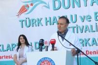 HALK OYUNLARI - Protokol Bornoz Giyip Sokağa Döküldü