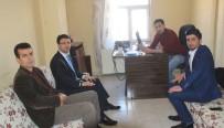 DURANKAYA - YDP Genel Başkanı Gürbüz İHA'yı Ziyaret Etti