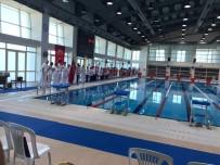 BÜLENT ECEVIT - Yüzme Müsabakaları BEÜ'de Yapıldı