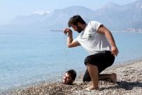GÖKMEN - Antalya'ya Yaz Erken Geldi