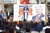 AK PARTI - Bakan Tüfenkci'den Skandal Pankarta Tepki