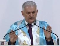FAHRİ DOKTORA - Başbakan'a fahri doktora