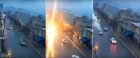 ŞAHIT - Hareket Halindeki Otomobile Yıldırım Düştü