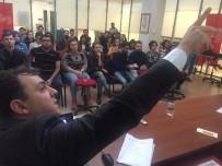 BASıN İLAN KURUMU - İHA Bölge Müdürü Altıkardeş, Genç Gazetecilere Tecrübelerini Anlattı...