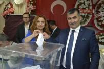 MUHARREM VARLI - MHP Kozan İlçe Başkanı Nihat Atlı Güven Tazeledi