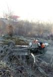 DEVLET HASTANESİ - Tokat'ta Traktör Kazası Açıklaması 1 Ölü