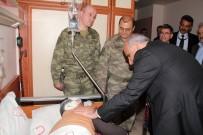 FıRAT ÜNIVERSITESI - 14 Teröristin Öldürüldüğü Olayda Yaralanan Askeri Vali Zorluoğlu Ziyaret Etti